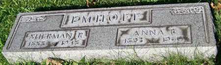 EMHOFF, SHERMAN R. - Stark County, Ohio | SHERMAN R. EMHOFF - Ohio Gravestone Photos