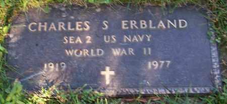 ERBLAND, CHARLES S. - Stark County, Ohio | CHARLES S. ERBLAND - Ohio Gravestone Photos