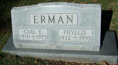 ERMAN, CARL E. - Stark County, Ohio | CARL E. ERMAN - Ohio Gravestone Photos