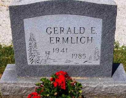 ERMLICH, GERALD E. - Stark County, Ohio   GERALD E. ERMLICH - Ohio Gravestone Photos