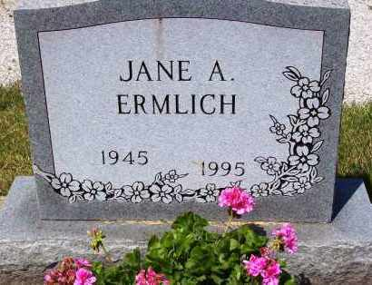 ERMLICH, JANE A. - Stark County, Ohio | JANE A. ERMLICH - Ohio Gravestone Photos