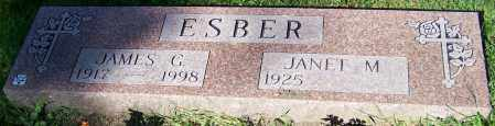 ESBER, JAMES G. - Stark County, Ohio | JAMES G. ESBER - Ohio Gravestone Photos