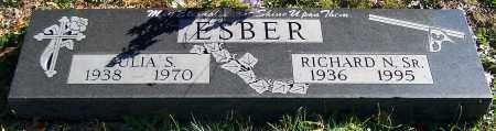 ESBER, RICHARD N. SR, - Stark County, Ohio | RICHARD N. SR, ESBER - Ohio Gravestone Photos