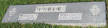 ESBER, NELLE - Stark County, Ohio | NELLE ESBER - Ohio Gravestone Photos