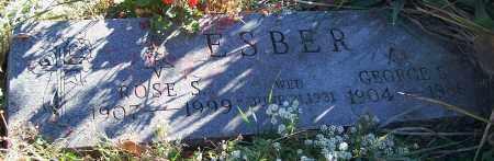 ESBER, GEORGE S. - Stark County, Ohio | GEORGE S. ESBER - Ohio Gravestone Photos
