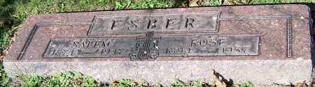 ESBER, ROSE - Stark County, Ohio | ROSE ESBER - Ohio Gravestone Photos