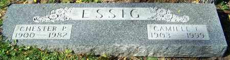 ESSIG, CHESTER P. - Stark County, Ohio | CHESTER P. ESSIG - Ohio Gravestone Photos