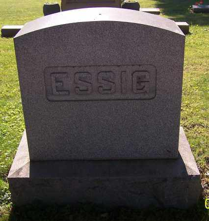 ESSIG, FAMILY - Stark County, Ohio | FAMILY ESSIG - Ohio Gravestone Photos