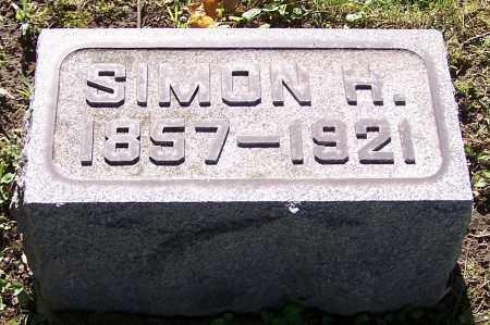 ESSIG, SIMON H. - Stark County, Ohio | SIMON H. ESSIG - Ohio Gravestone Photos