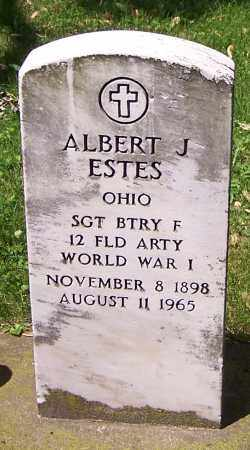 ESTES, ALBERT J. - Stark County, Ohio | ALBERT J. ESTES - Ohio Gravestone Photos
