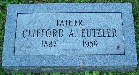 EUTZLER, CLIFFORD A. - Stark County, Ohio | CLIFFORD A. EUTZLER - Ohio Gravestone Photos