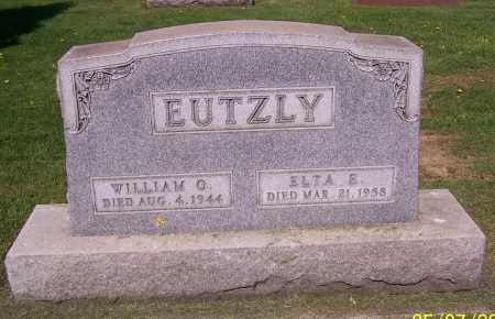 EUTZLY, WILLIAM O. - Stark County, Ohio | WILLIAM O. EUTZLY - Ohio Gravestone Photos