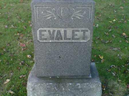 EVALET, ALFRED - Stark County, Ohio | ALFRED EVALET - Ohio Gravestone Photos