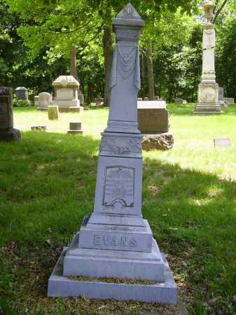 EVANS, DAVID - MONUMENT - Stark County, Ohio | DAVID - MONUMENT EVANS - Ohio Gravestone Photos