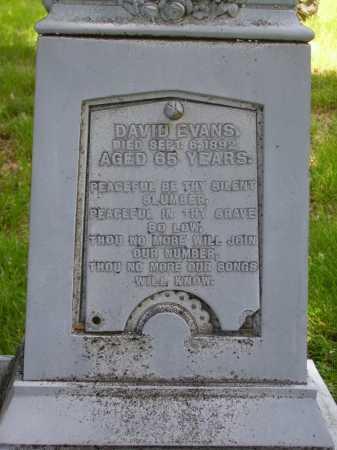 EVANS, DAVID - Stark County, Ohio | DAVID EVANS - Ohio Gravestone Photos