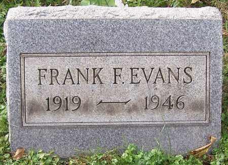 EVANS, FRANK F. - Stark County, Ohio   FRANK F. EVANS - Ohio Gravestone Photos