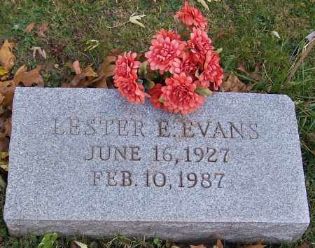 EVANS, LESTER E. - Stark County, Ohio | LESTER E. EVANS - Ohio Gravestone Photos