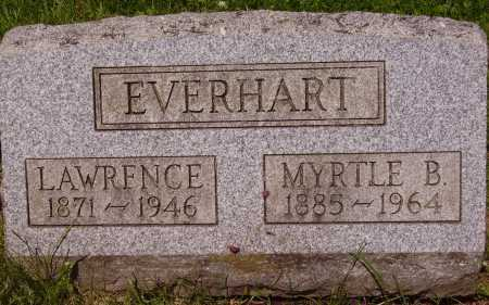 EVERHART, LAWRENCE - Stark County, Ohio | LAWRENCE EVERHART - Ohio Gravestone Photos