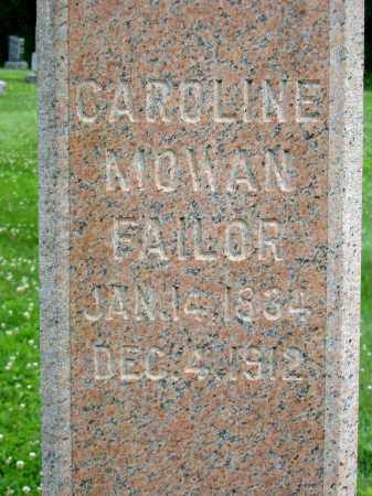 MOWAN FAILOR, CAROLINE - Stark County, Ohio | CAROLINE MOWAN FAILOR - Ohio Gravestone Photos