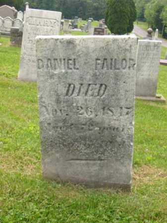 FAILOR, DANIEL - Stark County, Ohio   DANIEL FAILOR - Ohio Gravestone Photos