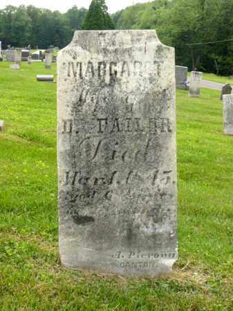 FAILOR, MARGARET - Stark County, Ohio | MARGARET FAILOR - Ohio Gravestone Photos
