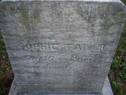 FAIVER, SOPHIE - Stark County, Ohio | SOPHIE FAIVER - Ohio Gravestone Photos