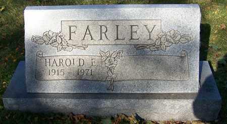 FARLEY, HAROLD E. - Stark County, Ohio | HAROLD E. FARLEY - Ohio Gravestone Photos