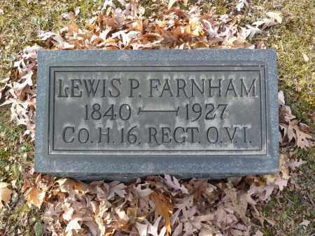 FARNHAM, LEWIS P.L - Stark County, Ohio | LEWIS P.L FARNHAM - Ohio Gravestone Photos