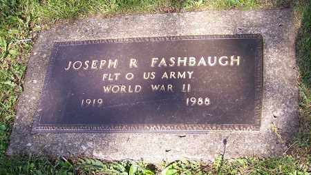 FASHBAUGH, JOSEPH R. - Stark County, Ohio | JOSEPH R. FASHBAUGH - Ohio Gravestone Photos
