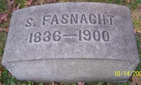 FASNACHT, S. - Stark County, Ohio | S. FASNACHT - Ohio Gravestone Photos