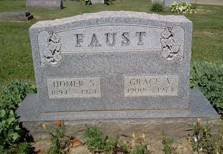 FAUST, GRACE V. - Stark County, Ohio | GRACE V. FAUST - Ohio Gravestone Photos