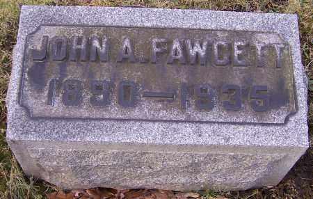 FAWCETT, JOHN A. - Stark County, Ohio | JOHN A. FAWCETT - Ohio Gravestone Photos