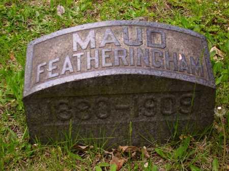FEATHERINGHAM, MAUD - Stark County, Ohio | MAUD FEATHERINGHAM - Ohio Gravestone Photos