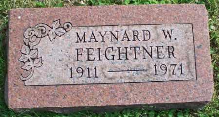 FEIGHTNER, MAYNARD W. - Stark County, Ohio   MAYNARD W. FEIGHTNER - Ohio Gravestone Photos