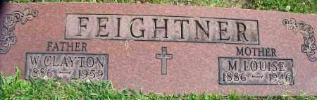 FEIGHTNER, W.CLAYTON - Stark County, Ohio | W.CLAYTON FEIGHTNER - Ohio Gravestone Photos