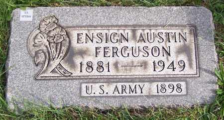 FERGUSON, ENSIGN AUSTIN - Stark County, Ohio | ENSIGN AUSTIN FERGUSON - Ohio Gravestone Photos