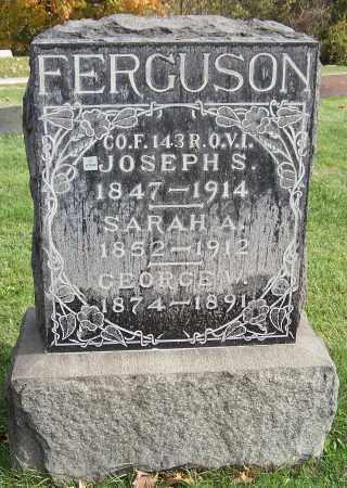 FERGUSON, JOSEPH S. - Stark County, Ohio | JOSEPH S. FERGUSON - Ohio Gravestone Photos