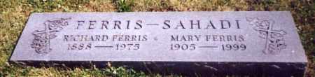 SAHADI FERRIS, MARY - Stark County, Ohio | MARY SAHADI FERRIS - Ohio Gravestone Photos