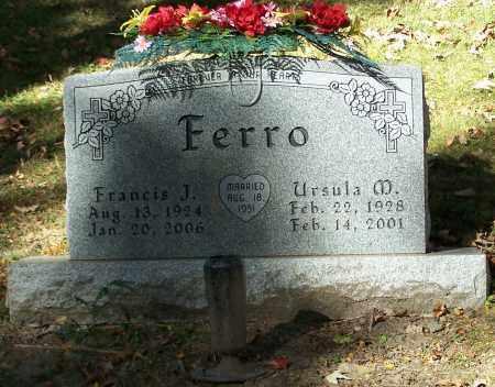 FERRO, URSULA M. - Stark County, Ohio | URSULA M. FERRO - Ohio Gravestone Photos