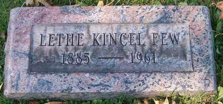 FEW, LETHE KINCEL - Stark County, Ohio | LETHE KINCEL FEW - Ohio Gravestone Photos