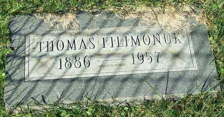 FILIMONUK, THOMAS - Stark County, Ohio   THOMAS FILIMONUK - Ohio Gravestone Photos