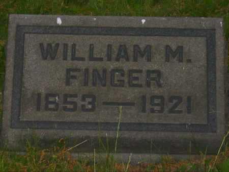 FINGER, WILLIAM M. - Stark County, Ohio | WILLIAM M. FINGER - Ohio Gravestone Photos