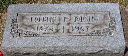 FINN, JOHN P - Stark County, Ohio | JOHN P FINN - Ohio Gravestone Photos