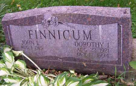 FINNICUM, DOROTHY I. - Stark County, Ohio | DOROTHY I. FINNICUM - Ohio Gravestone Photos