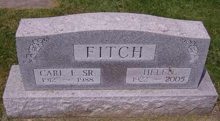 FITCH, CARL E. (SR) - Stark County, Ohio | CARL E. (SR) FITCH - Ohio Gravestone Photos