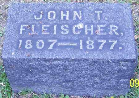 FLEISCHER, JOHN T. - Stark County, Ohio   JOHN T. FLEISCHER - Ohio Gravestone Photos