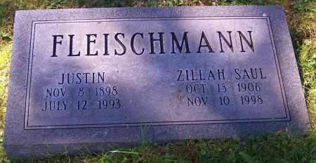 FLEISCHMANN, ZILLAH SAUL - Stark County, Ohio   ZILLAH SAUL FLEISCHMANN - Ohio Gravestone Photos