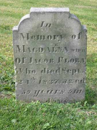 FLORA, MAGDALENA - Stark County, Ohio   MAGDALENA FLORA - Ohio Gravestone Photos