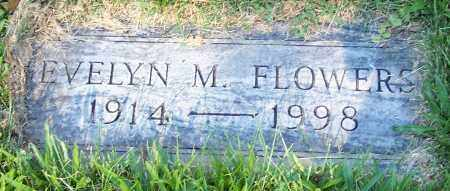 FLOWERS, EVELYN M. - Stark County, Ohio | EVELYN M. FLOWERS - Ohio Gravestone Photos
