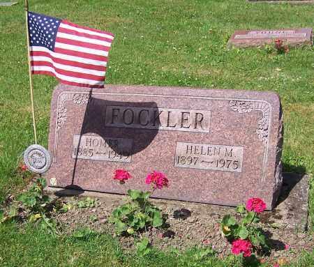 FOCKLER, HELEN M. - Stark County, Ohio | HELEN M. FOCKLER - Ohio Gravestone Photos